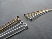Image of Eyepins and Headpins - Many Colours to Choose From