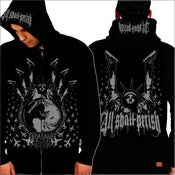 Image of ALL SHALL PERISH - ATD Black Zipper Hood