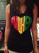 "Image of Red Yellow Green ""Anuhea"" Tank (Women's) - BLACK"