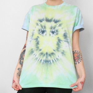 Image of Tie Dye T-Shirt Smiley Face