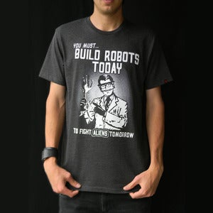 Image of Build Robots Today! Charcoal