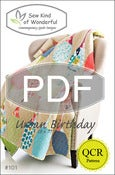 Image of Urban Birthday ~ Pattern #101 (PDF Pattern)