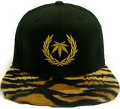 Image of Gold Standard Tiger stripe strapback