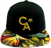 Image of Tropical CA Gold strapback