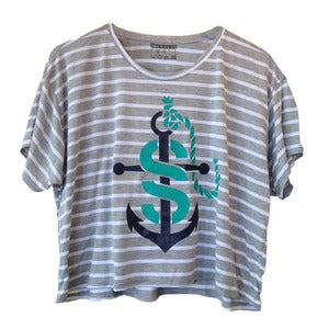Image of S.S. Anchor Crop Tee