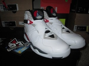 Image of Air Jordan VIII (8) Retro &quot;Bugs Bunny&quot; 2013