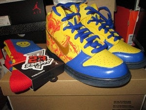 Image of Finnigan's Dunk High Pro SB &quot;Doernbecher Charity&quot; GS