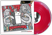 Image of Punchline<br>'Politefully Dead & Action'<br>CD & LP (pink/white)