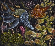 Image of ORIGINAL FRAMED PAINTING: &quot;MICRODONS&quot; 2013