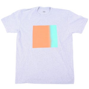 Image of Gradient Box Tee | Heather Gray