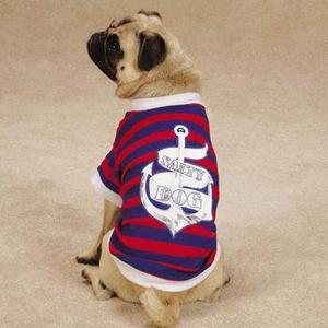 Image of All Paws on Deck Dog T-Shirt - Salty Dog