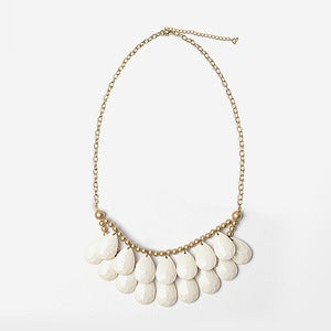 Image of Ivory Briolette Necklace