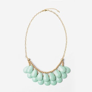 Image of Mint Briolette Necklace