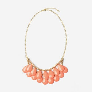 Image of Coral Briolette Necklace