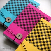 Image of Gingham Notepad {#340}