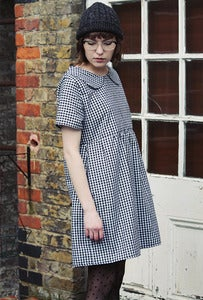 Image of Jessica Gingham Loose Smock