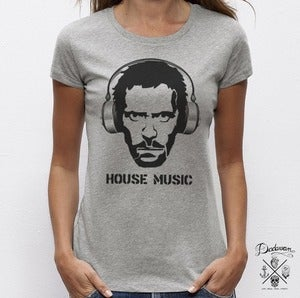 Image of T-shirt femme House Music by Dadawan