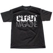 Image of CLOUT Magazine Header Artic Camo T-shirt