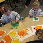 Image of Fall Age 2-3 Weekly Art Class