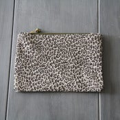 Image of Leather Pouch - Print