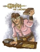 Image of Conan the Librarian Print