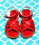Image of Saltwater Sandals: Red