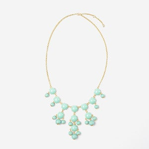 Image of Mint Mini Bubble Necklace