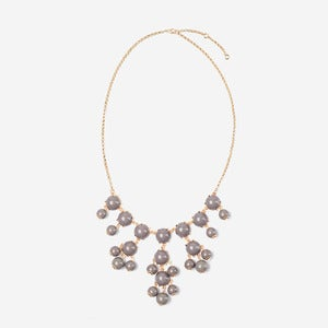 Image of Gray Mini Bubble Necklace