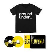 Image of John Digweed Live in Slovenia 2 x CD Limited Signed Slipcase Edition Pre-order & Underground T Shirt