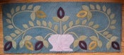 Image of Primitive Bouquet Wool Mat