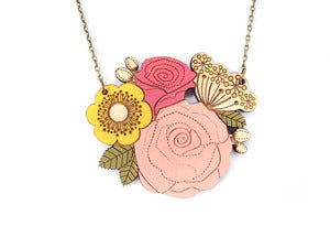 Image of Rose Posy Necklace