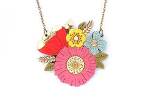 Image of Poppy Posy Necklace