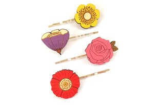 Image of In Bloom Hair Clip Set