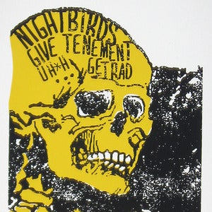Image of Nightbirds/Give/Tenement/Get Rad/ Uh*h poster