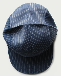 Image of MIDTOWN CHAMBRAY 5 PANEL CAP (HICKORY)