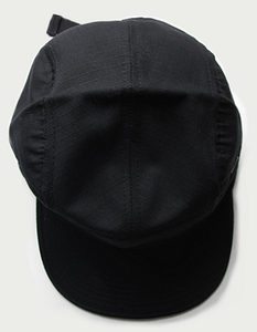 Image of MIDTOWN RIPSTOP 5 PANEL CAP (STEALTH)