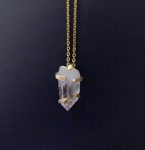 Image of PETRA SEIZED THE DAY - necklace (white quartz)