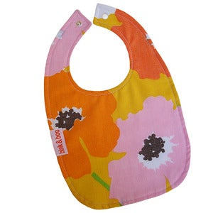 "Image of ""Flower Power"" traditional bib"
