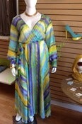 Image of Lux Chiffon Wrap Maxi Dress - Print