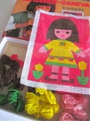 Image of 1970s Doll Cross Stitch