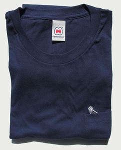 Image of MARY POCKET T-SHIRT NAVY
