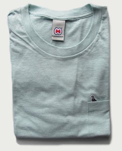 Image of MARY POCKET T-SHIRT AQUATIC