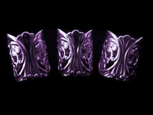 Image of Purple Lace Cuffs