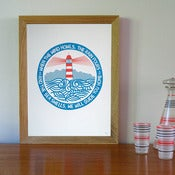 Image of We Will Guide You  Screen Print