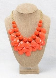 Image of Orange Pearl Neckalce