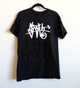 Image of Limited Black SLOTH Tag T-shirt