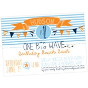 Image of Catch the Wave party printables