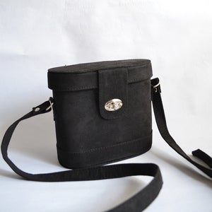 Image of Oval boxy crossbody bag