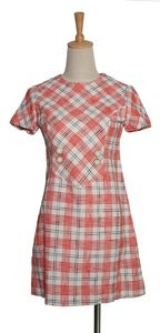 Image of Check Your Orange Dress