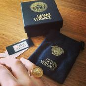 Image of Gianni Versace Rings x 2